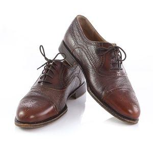 Johnston Murphy Domani Cap Toe Brogue Oxford Shoes